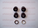 Kit distanziali tergicristalli/Spacers/covers for shaft wipers with chrome nuts 1